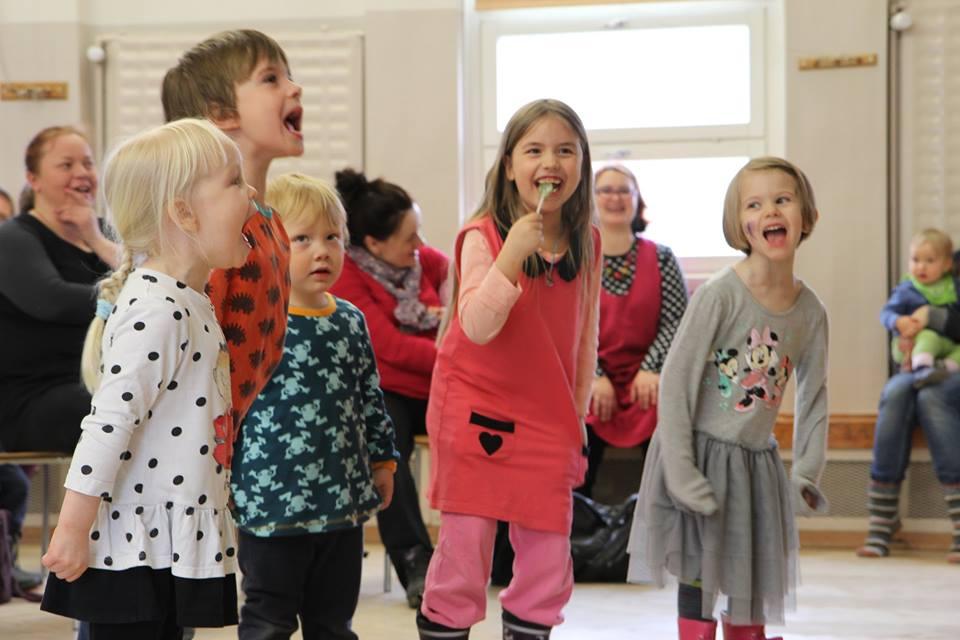 Lasten Eurooppa -tapahtuma, Malmi. Kuvaaja: Heidi Richert