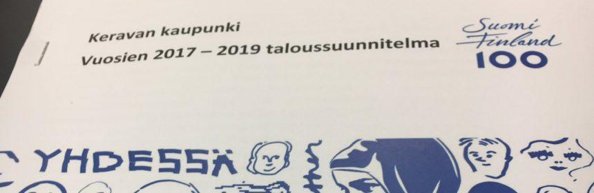 Vasemmistoliiton valtuustoryhmän puheenjohtaja Pia Lohikosken ryhmäpuheenvuoro budjettikeskustelussa.